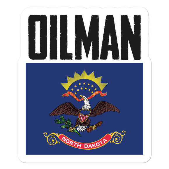 North Dakota Oilman Sticker