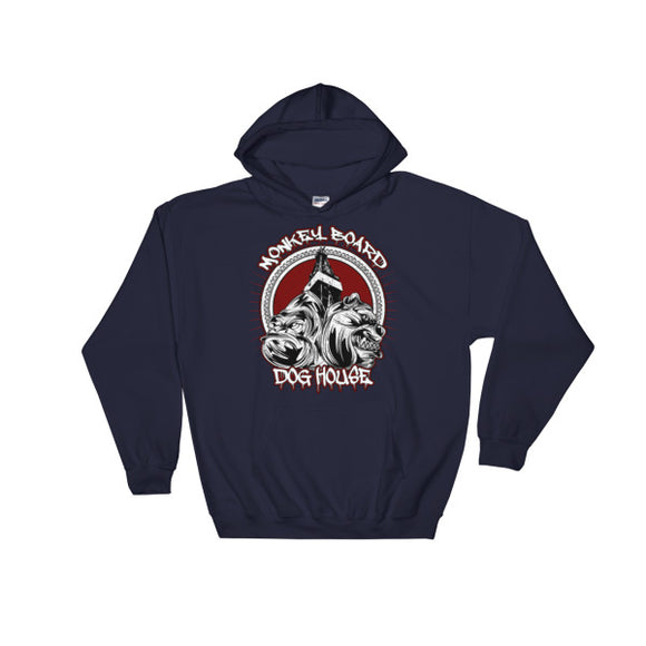 Monkey Board / Dog House Oilfield Hoodie Navy