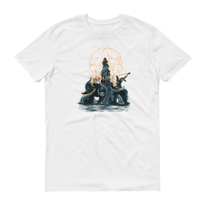 The Kraken - Offshore Oilfield Tee White