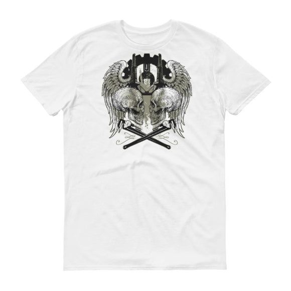 White Oilfield Angel of Death T Shirt