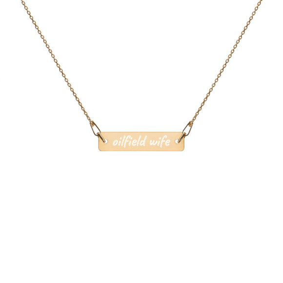 Oilfield Wife Necklace
