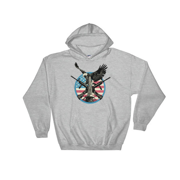 Guns and Oil - Oilfield Hoodie Gray