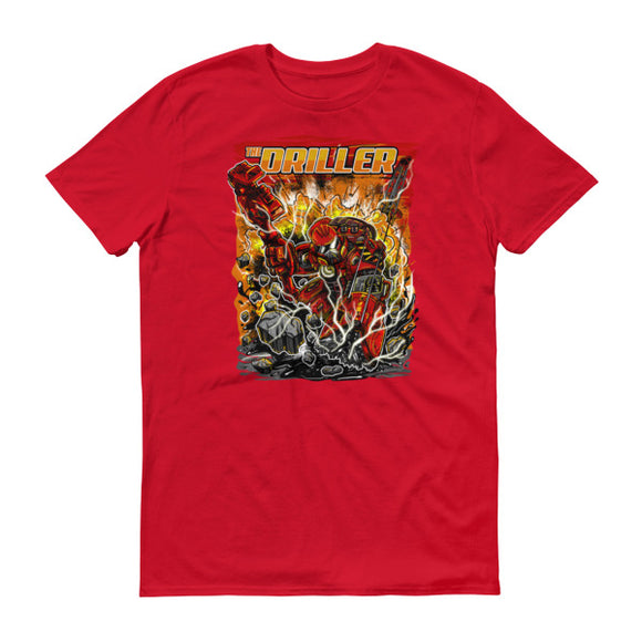 The Driller - T Shirt Red