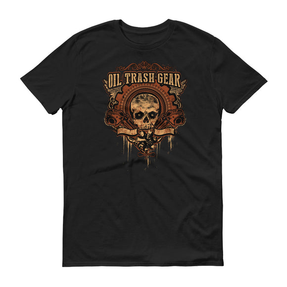 Skull and Tongs - Oilfield Shirt Black