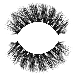 Dreamy 3D Faux Mink False Eyelash. Dramatic, medium length and full. Light and Fluffy. 100% Vegan & Cruelty Free Faux Mink Fibers