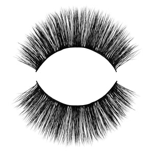 Bae 3D Faux Mink False Eyelash. Natural, Wispy, Light and Fluffy. 100% Vegan & Cruelty Free Faux Mink Fibers. Everyday wear.