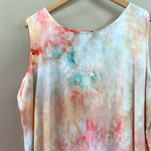 Sorbet Hand Dyed Tank II, Size M/L