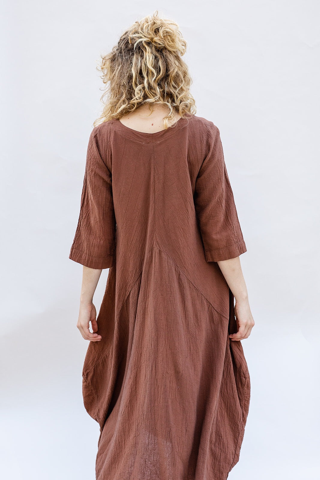 Llano Dress in Sable