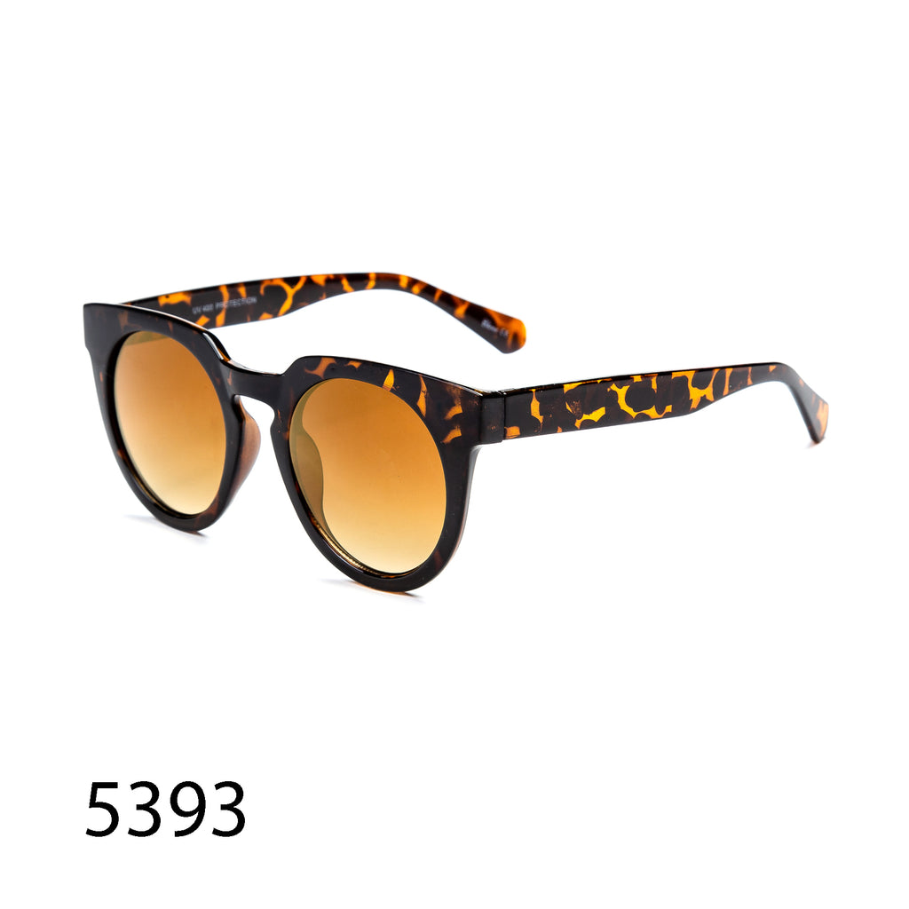 Pack of 12: Urban Luxury Retro Round Tortoise Wholesale Sunglasses