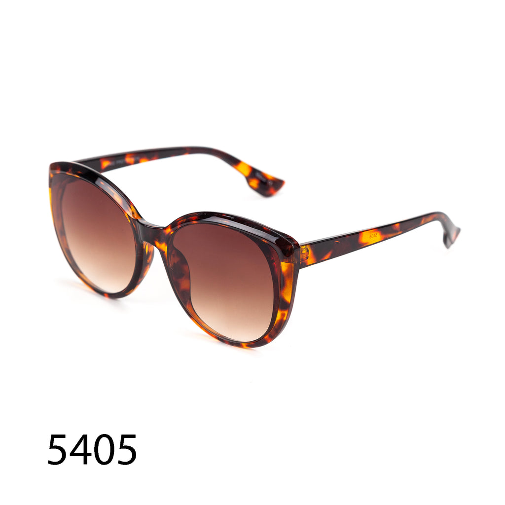 Pack of 12: Modern Round Cateye Rich Tortoise Wholesale Sunglasses
