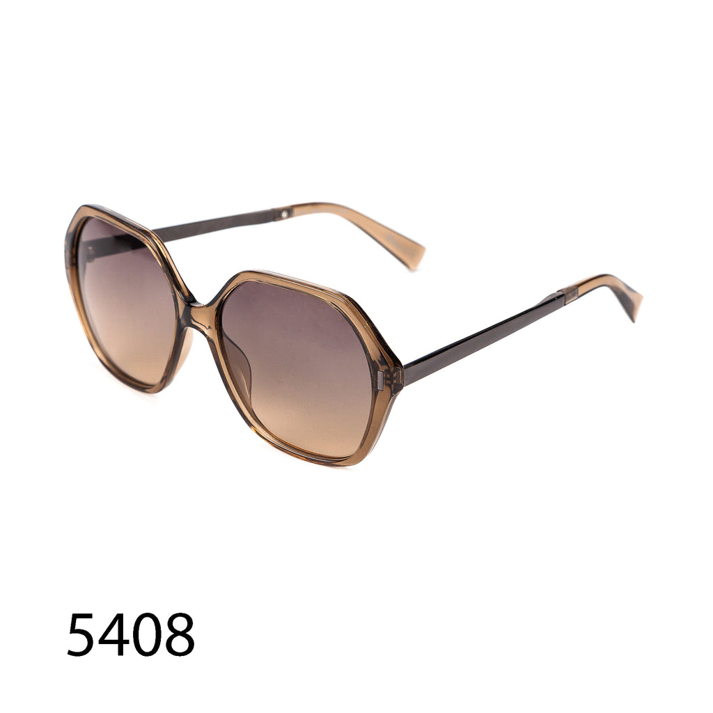Pack of 12: Modern Angular Shaped Clean Designed Wholesale Sunglasses