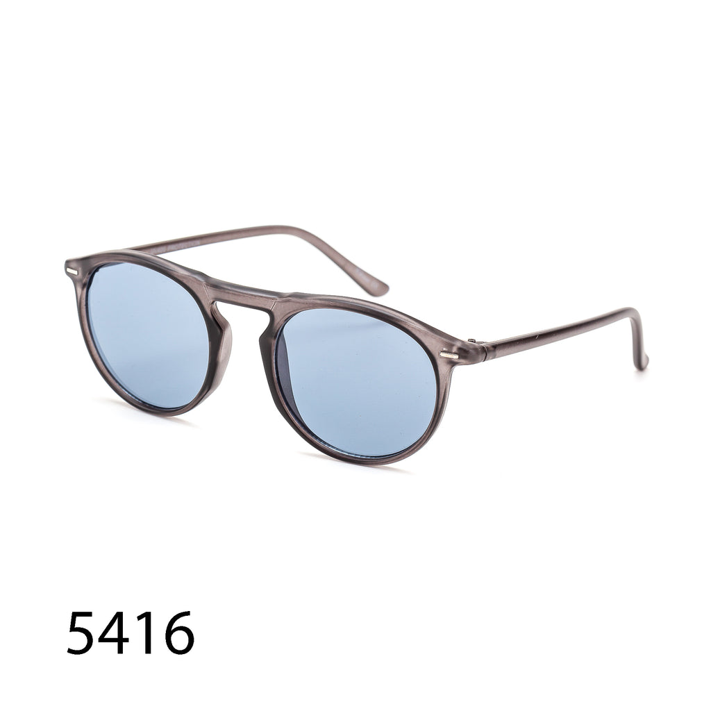 Pack of 12: Vintage Retro Round Oval Unisex Wholesale Sunglasses