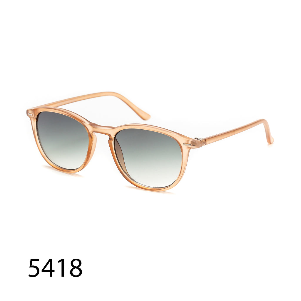 Pack of 12: Matte Travelers Tinted Classic Style  Wholesale Sunglasses