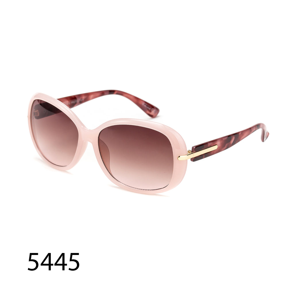 Pack of 12: Jelly Colored Vintage Butterfly Gold Stripe Wholesale Sunglasses