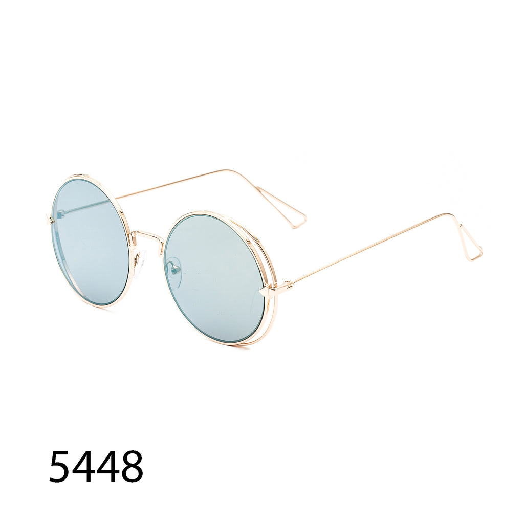 Pack of 12: Metal Round Wholesale Sunglasses