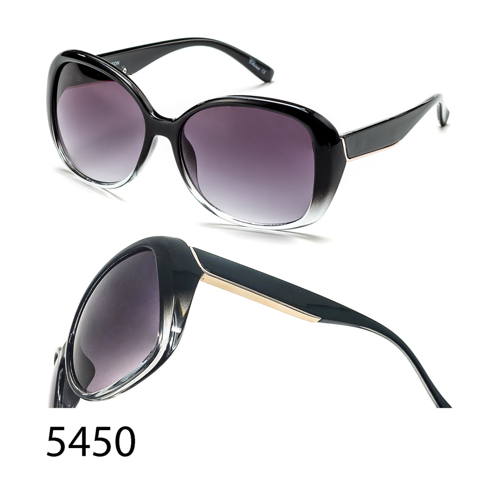 Pack of 12: Classic Vintage Retro Butterfly Metal Piece  Wholesale Sunglasses