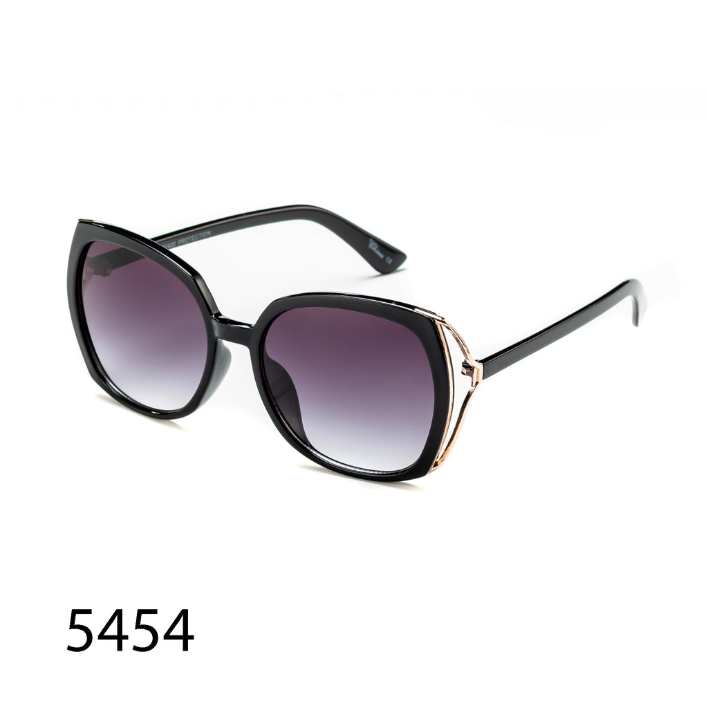 Pack of 12: Fashion Oversized Sunglasses Modern City Look Wholesale Sunglasses