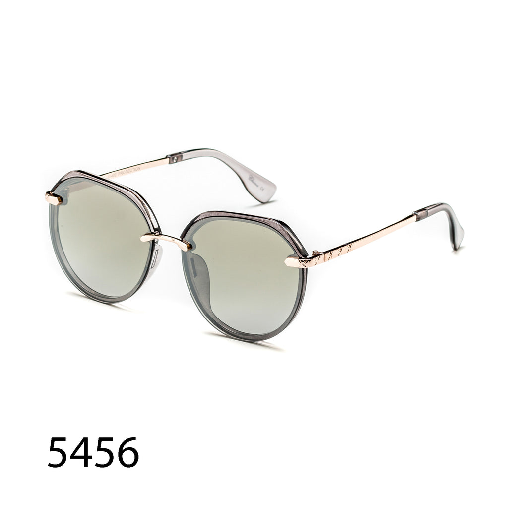 Pack of 12: Rimless Metal Luxury Oval Round Weightless Wholesale Sunglasses