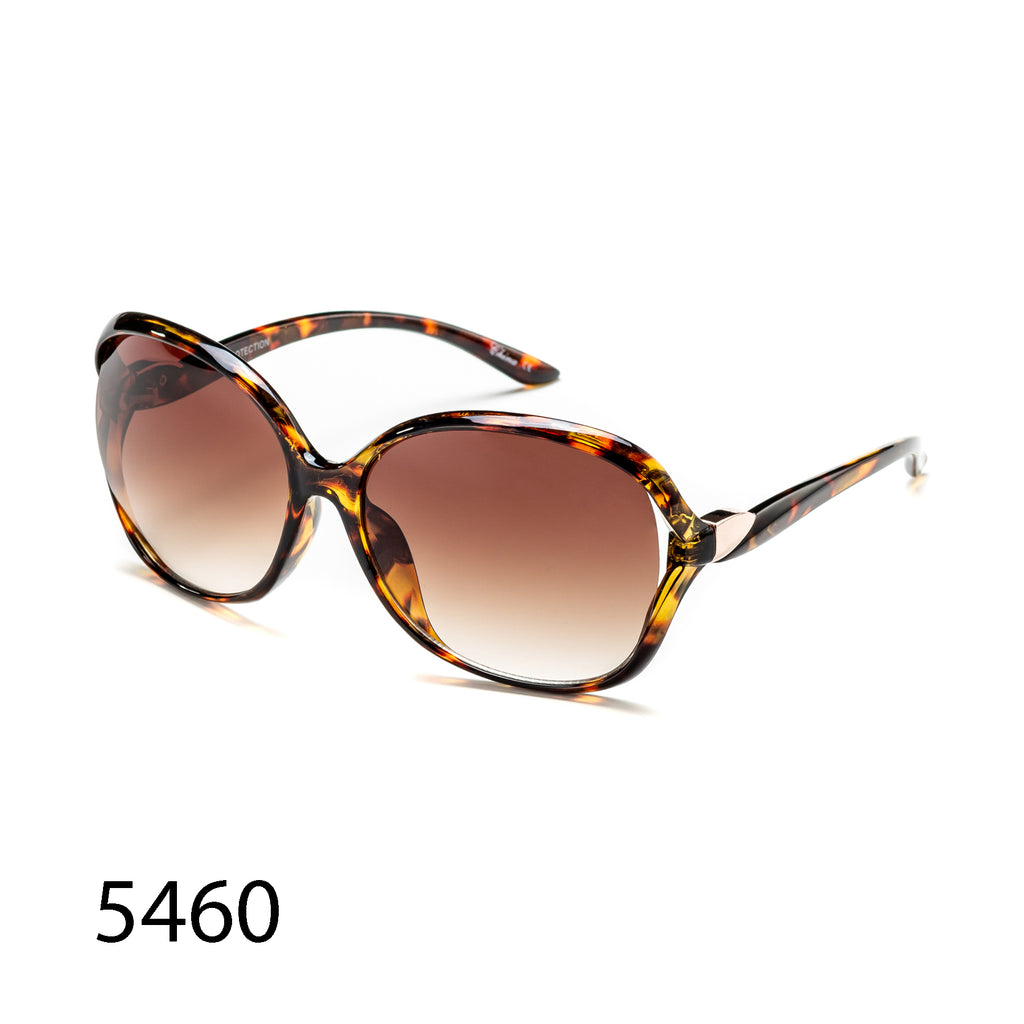 Pack of 12: Oversized Fashion Urban Retro Tortoise Classic Wholesale Sunglasses