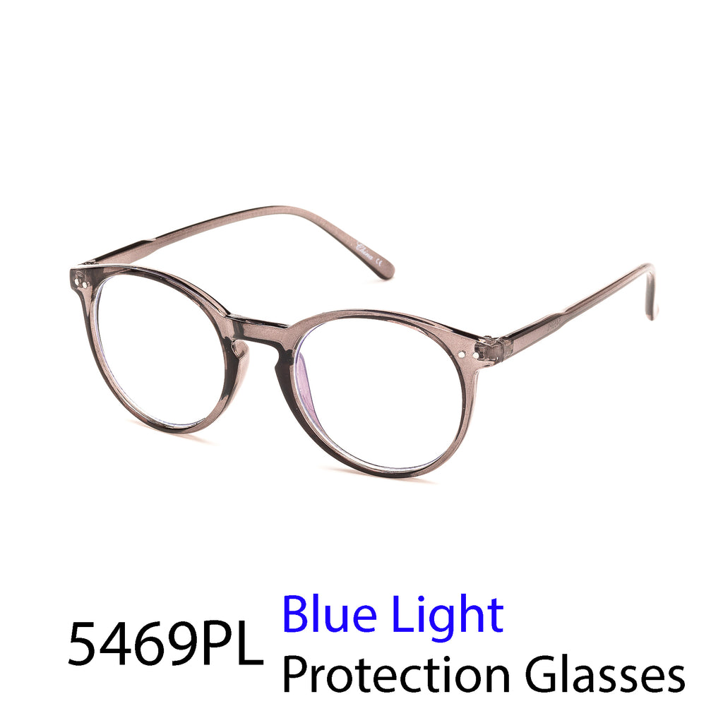Pack of 12: Vintage Round Weightless Blue Light Computer Glasses Wholesale Blue Light Frames