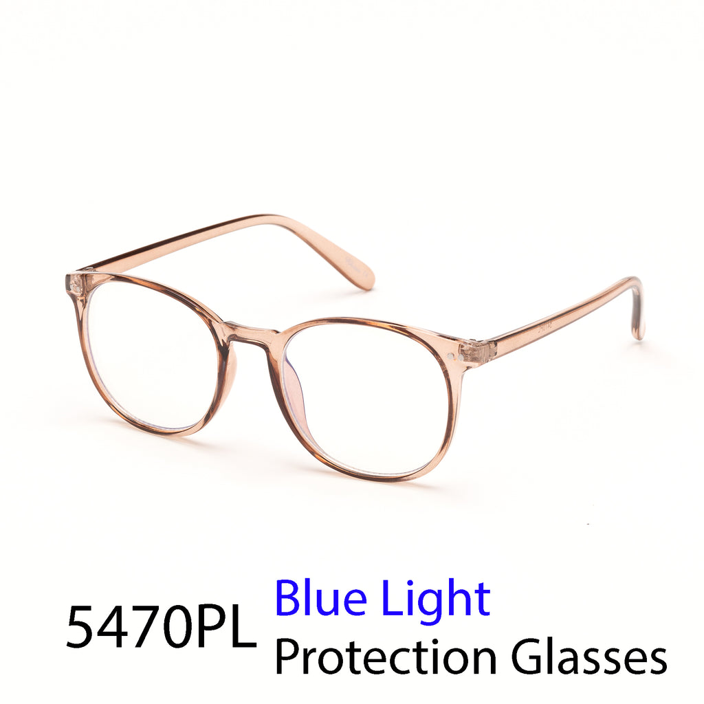 Pack of 12: Vintage Large Round Weightless Blue Light Computer Glasses Wholesale Blue Light Glasses