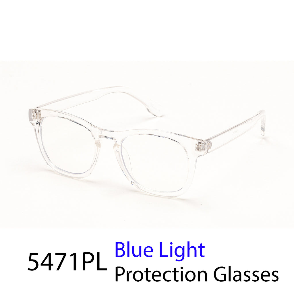 Pack of 12: Vintage Retro Round Square Bold Blue Light Unisex Computer Glasses Wholesale Blue Light Glasses