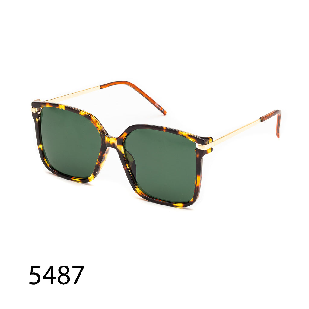 Pack of 12: Retro Modern Vintage Universal Square Aviator Wholesale Sunglasses