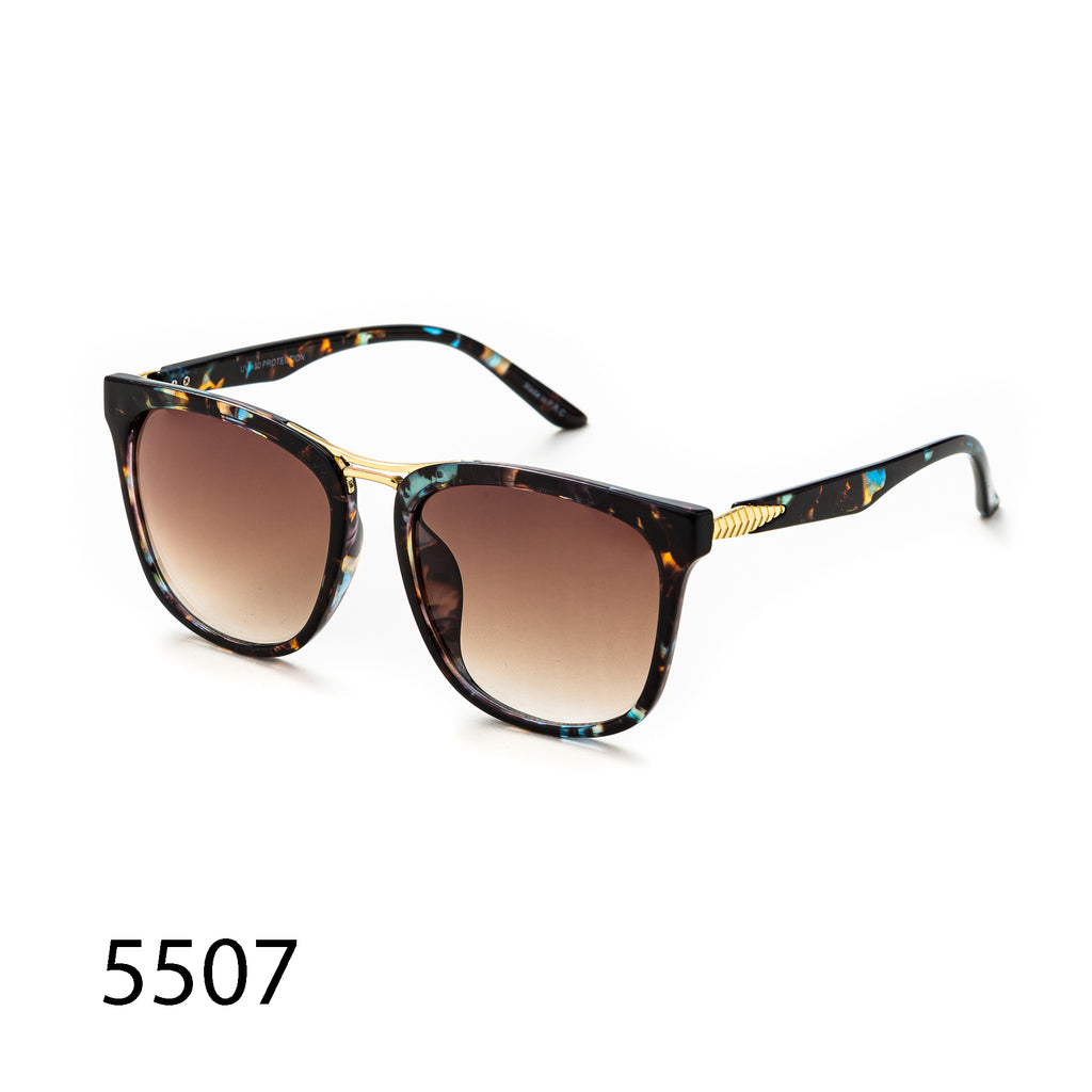 Pack of 12: Oversized Retro Square Unique Ornament Wholesale Sunglasses