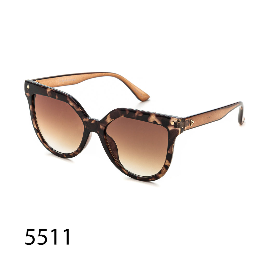 Pack of 12:  Oversized Unique Square and Cat Eye Wholesale Sunglasses