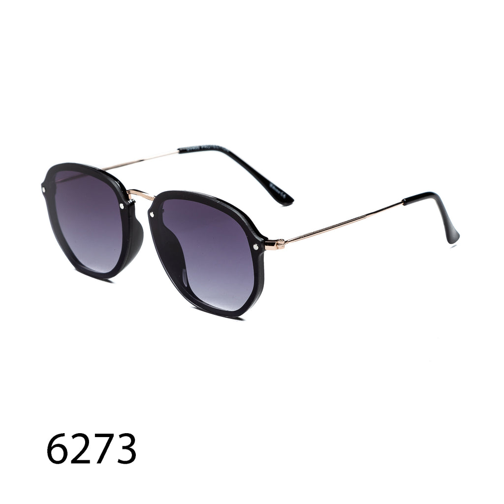 Pack of 12: Rimless Metal Temple Polit Minimalist Wholesale Sunglasses