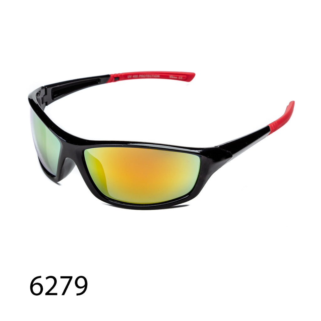 Pack of 12: Athletic Drivers Sporty Reflective Lens  Bikers Motorcyclist Wholesale Sunglasses