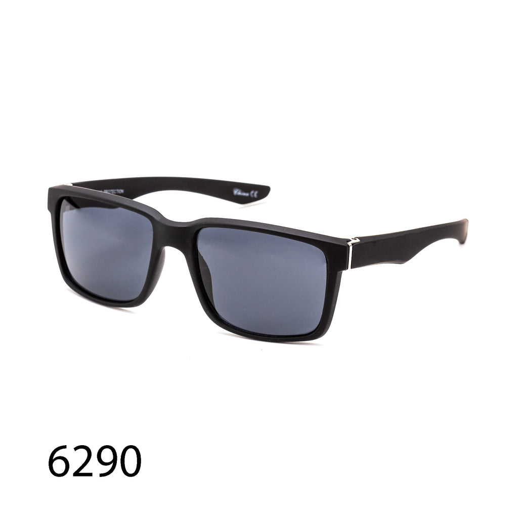 Pack of 12: Sporty Casual Rectangular Men Frame Simple Styles Wholesale Sunglasses