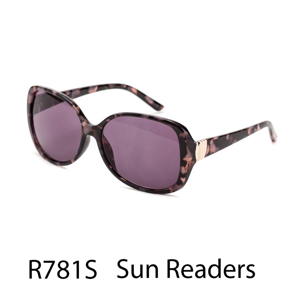 Pack of 12: Oversized Tortoise Boutique Sunreaders Wholesale Reader Sunglasses