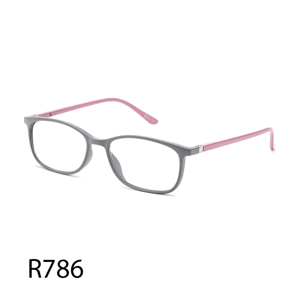 Pack of 12: Adorable Soft Colors Weightless Clean Light Wholesale Reading Glasses