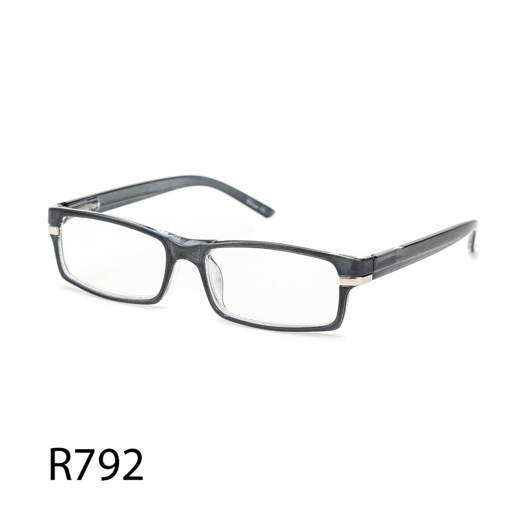 Pack of 12: Classic Rectangular Shape Small Unisex Readers Wholesale Reading Glasses