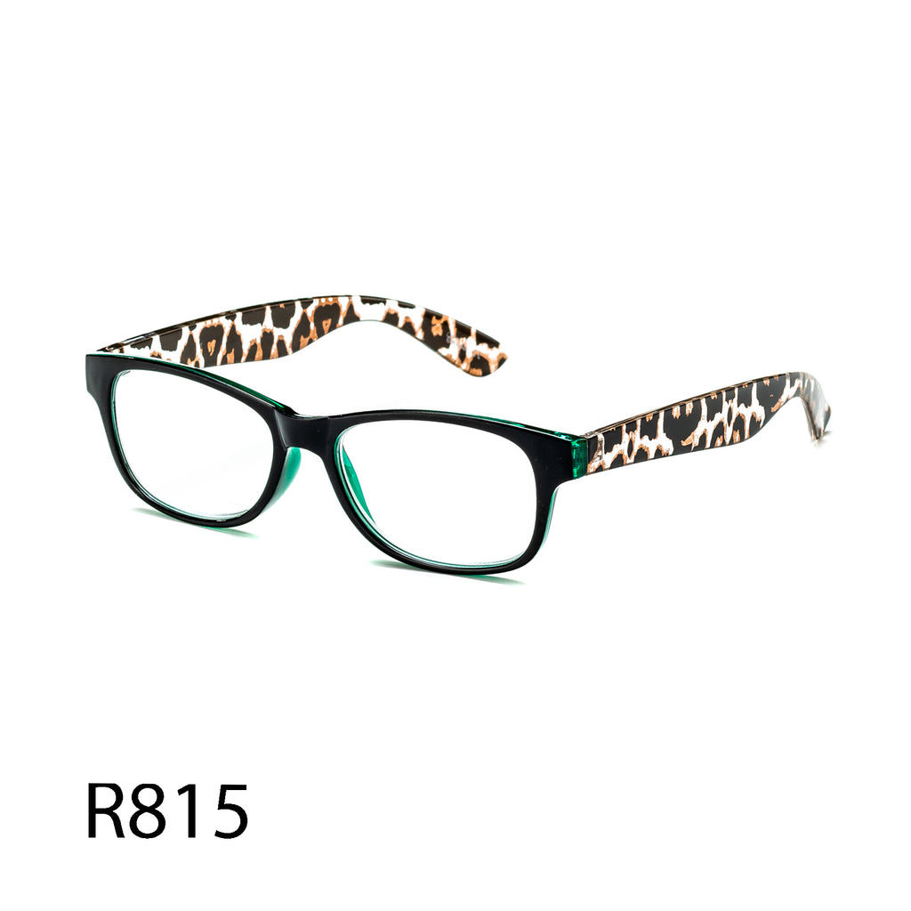 Pack of 12: Bold Animal Prints Leopard Translucent Fashion Wholesale Reading Glasses