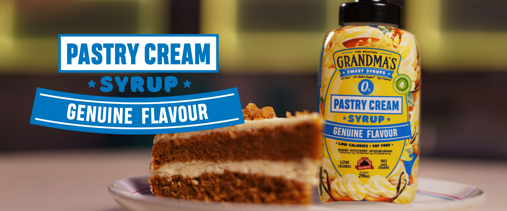 PASTRY CREAM SYRUP