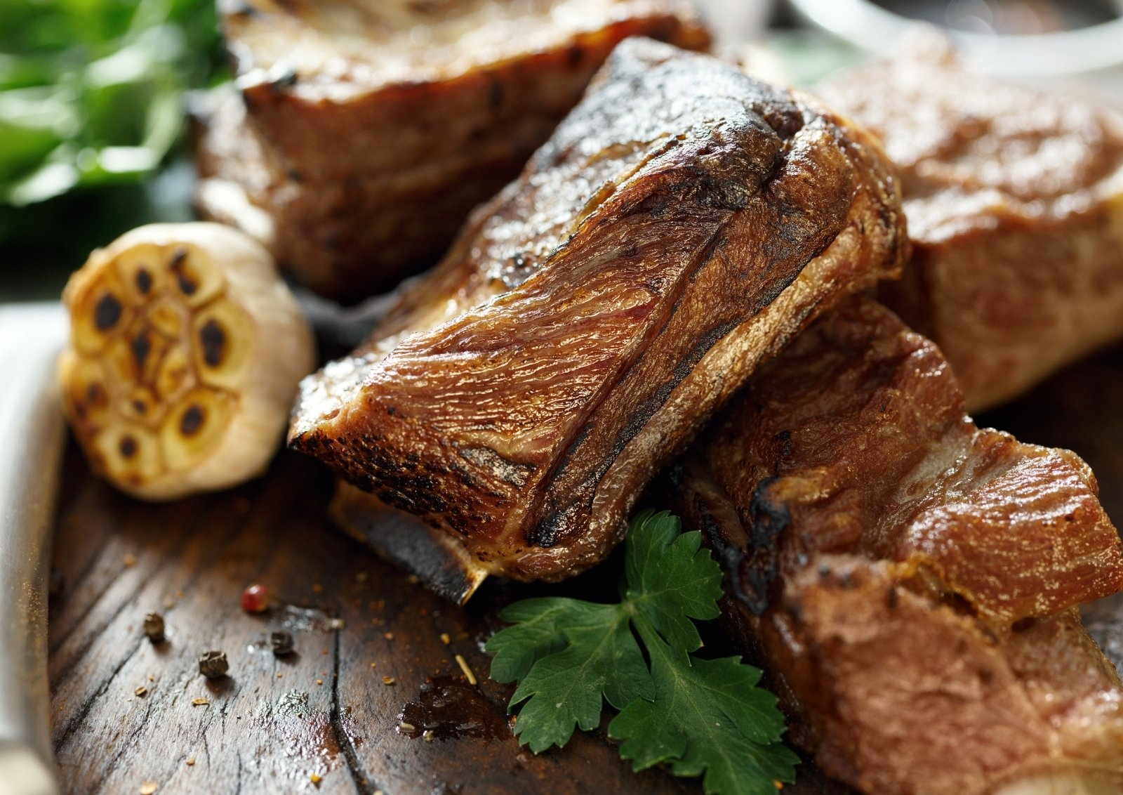 Dutch Oven Braised Beef Short Ribs In White Beer
