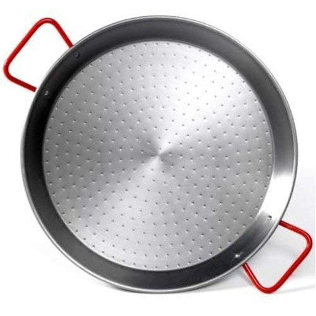 "15"" Spanish Carbon Steel Paella Pan (3-5 People)-Paella Pan-TOROS - COOKWARE BAKEWARE & GRILL STORE"