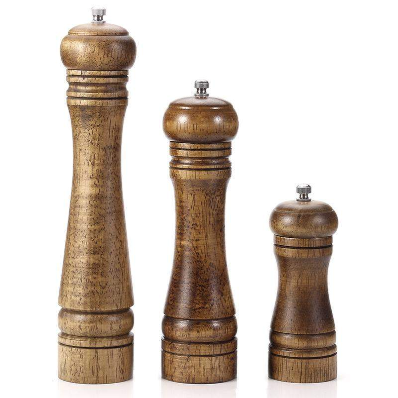 Adjustable Ceramic Salt and Pepper Hand Mill Grinders - TOROS - COOKWARE BAKEWARE & GRILL STORE