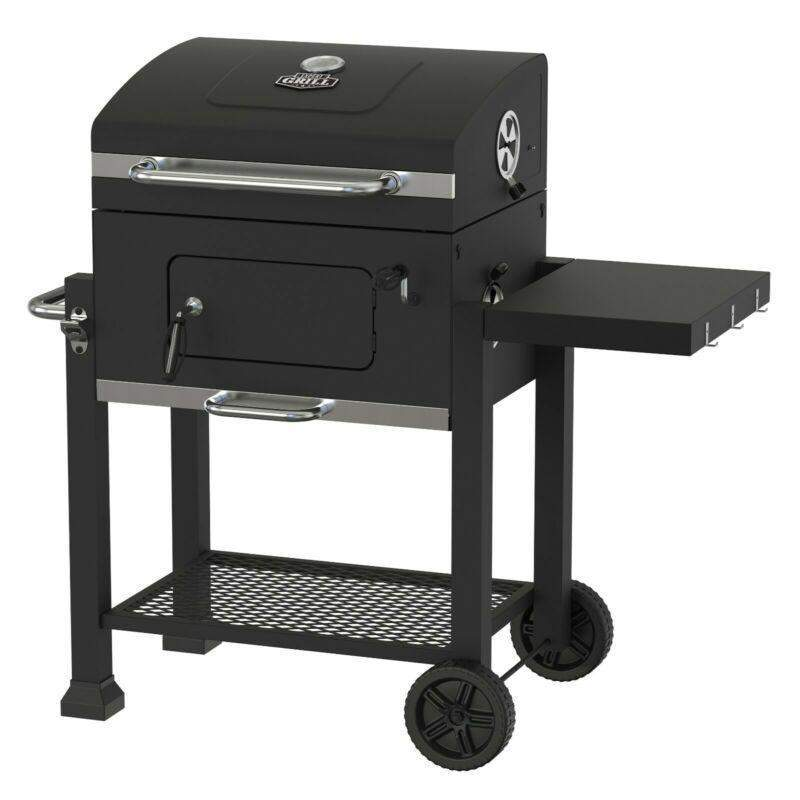 Heavy Duty 24-Inch Charcoal Barbecue BBQ Grill - TOROS - COOKWARE BAKEWARE & GRILL STORE