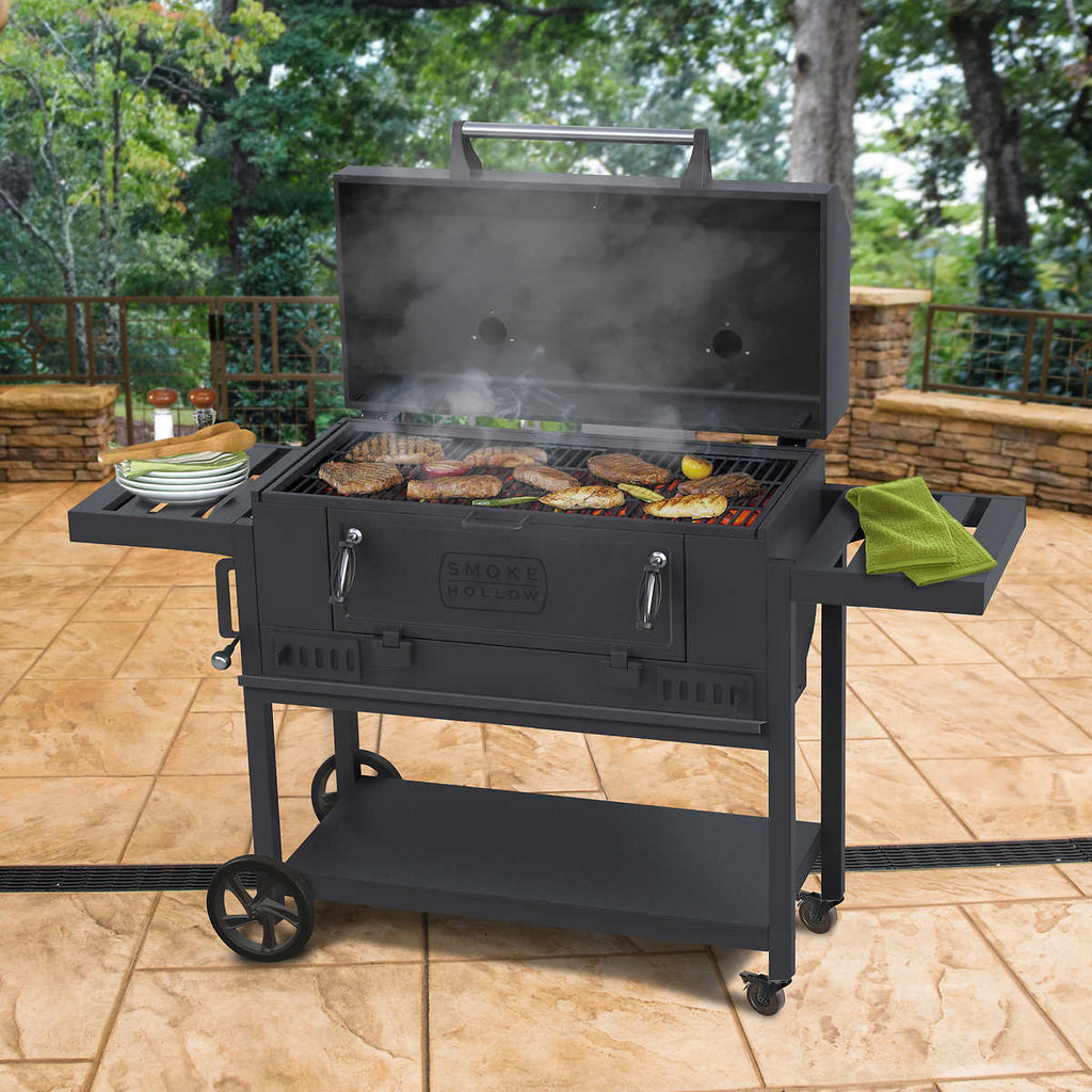Heavy Duty Charcoal Grill by Smoke Hollow