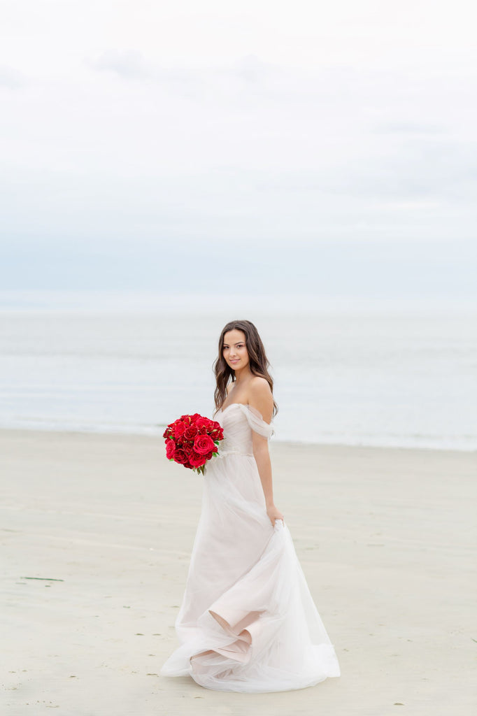 Valentina Collection - Bride Bouquet (NEW) - All Red