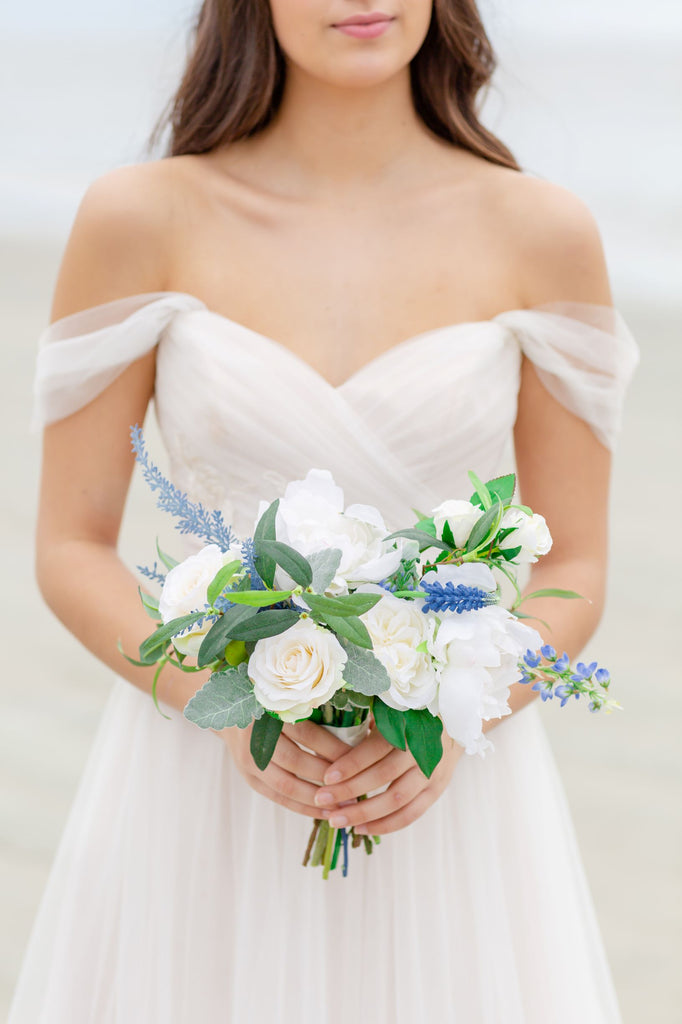 Venetian Collection - Something Borrowed Blue -  Bridesmaid Bouquet
