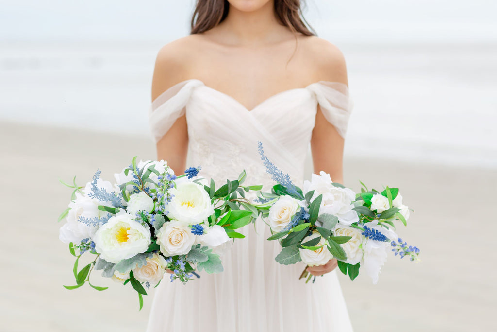 Venetian Collection - Something Borrowed Blue - Bride Bouquet