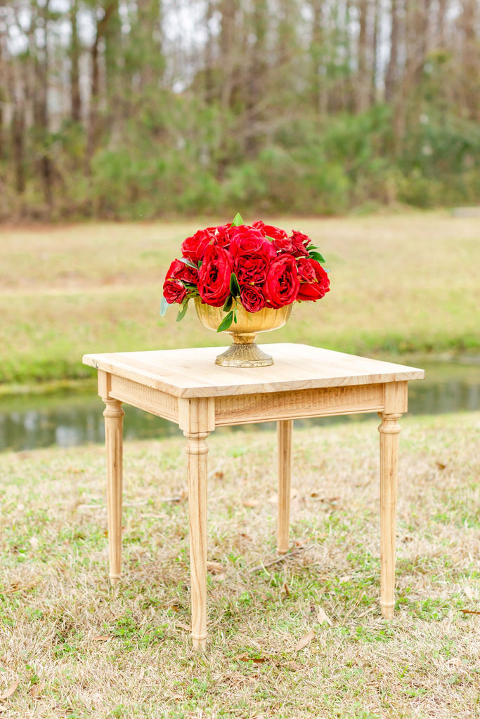 Valentina Collection - Table Centerpiece - All Red
