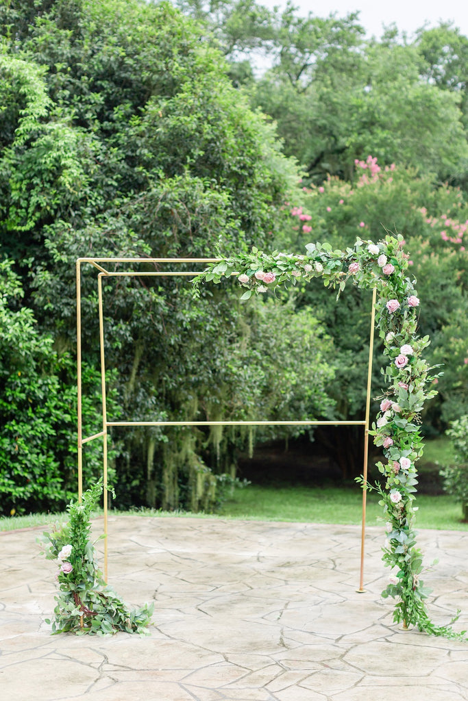 Garland Collection - Swag with Blooms + Greenery