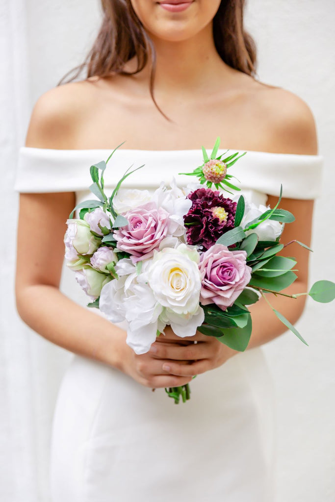 Venetian Collection - Lavender - Bridesmaid Bouquet