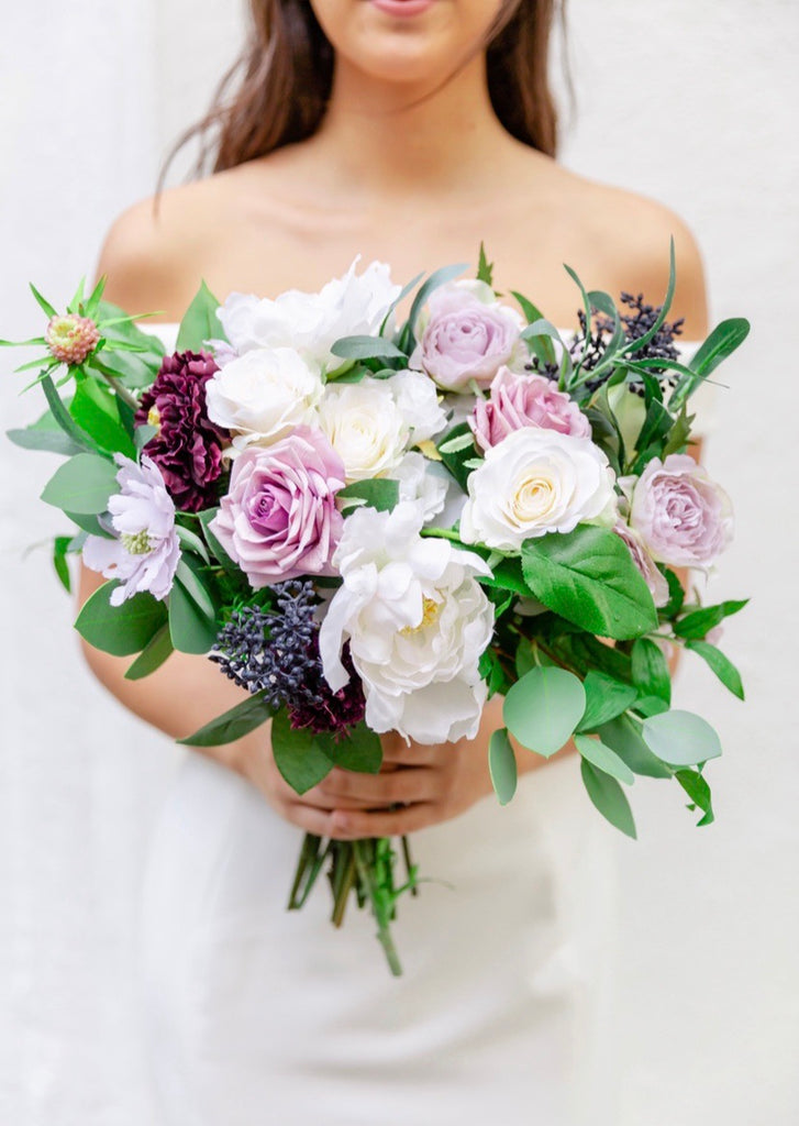 Venetian Collection - Lavender - Bride Bouquet