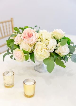 Venetian Pink Centerpiece (SAMPLE)